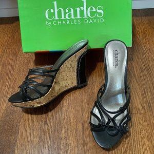 Charles by Charles David Saga Wedge 7.5 B
